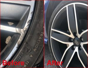 Lowton Alloy Wheel Refurbishment and Repairs - Before and After